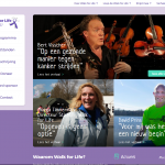 NIeuwe Website Walk for Life